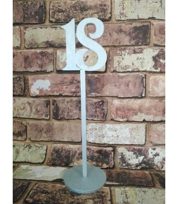 Wedding table number/name - numerical