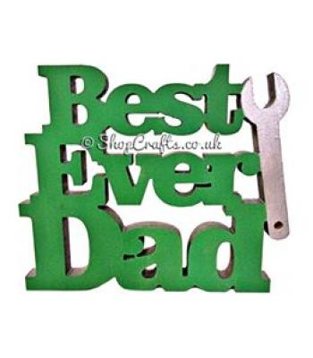 Best Ever Dad - Freestanding item tool design