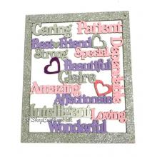 Personalised Hanging Large Best Friend Collage