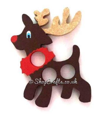 Freestanding Reindeer Ferrero Rocher Holder