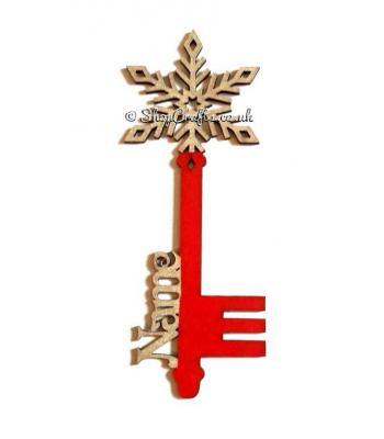Personalised Name Magic Key - Snowflake