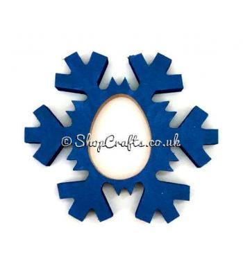 Freestanding Kinder Egg Holder - Snowflake
