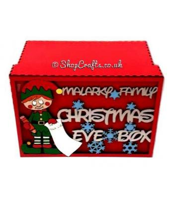 Personalised Christmas Eve Box - Boy Elf Design