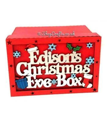 Personalised Christmas Eve Box - Themed shapes designs
