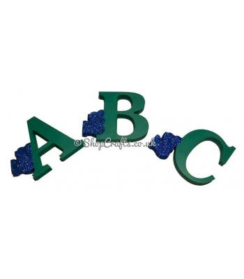 Train Letters - Freestanding 18mm thick