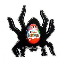 Halloween Spider Kinder Egg Holder -18mm thick Freestanding