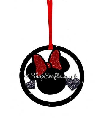 Minnie Mouse Hanging Mini Dream Catcher