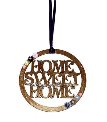 Home Sweet Home Hanging Mini Dream Catcher