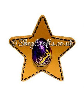 Star Creme Egg Holder -Freestanding - 18mm Thick