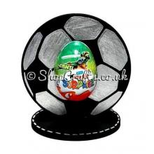 Football Kinder Egg Holder on a Stand - 6mm Thick