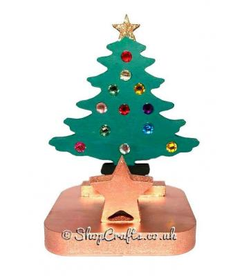 Christmas Tree 18mm thick Freestanding Stocking Holder