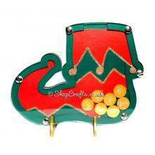 Elf Shoe Countdown to Christmas - Reward Drop Box