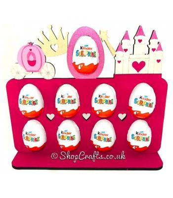Easter Kinder egg plaque - Princess version *OTHER THEMES AVAILABLE*