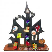 *Special Offer-Free lollies!* Reusable 3mm Haunted House lollipop stand-OTHER DESIGNS AVAILABLE