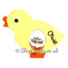 18mm thick Kinder egg holder - Chick version