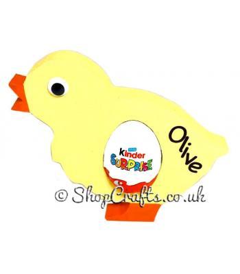 18mm thick Kinder egg holder - Chick version