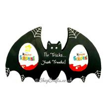Bat shaped Halloween confectionary holder - 18mm thick freestanding