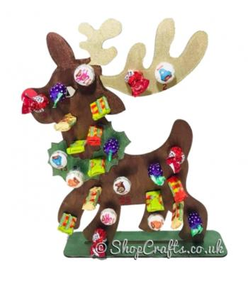 *Special Offer-Free lollies!* Reusable 3mm Reindeer lollipop advent calendar-OTHER DESIGNS AVAILABLE
