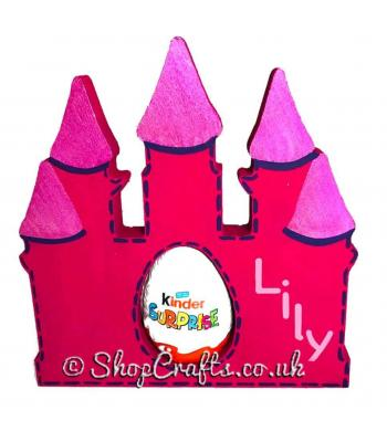 18mm thick Kinder egg holder - Magic Castle version.