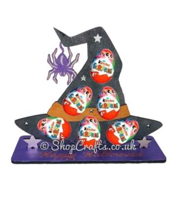Reusable 6mm thick Witches' Hat kinder egg holder-OTHER DESIGNS AVAILABLE