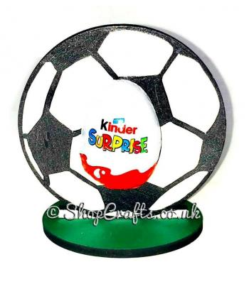 Reusable Easter kinder egg holder - Football version *OTHER DESIGNS AVAILABLE*