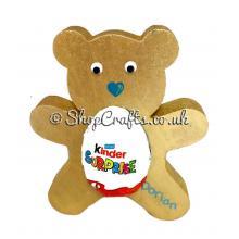18mm thick Kinder egg holder - Teddy Bear version.