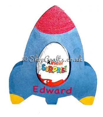 18mm thick Kinder egg holder - Rocket version.