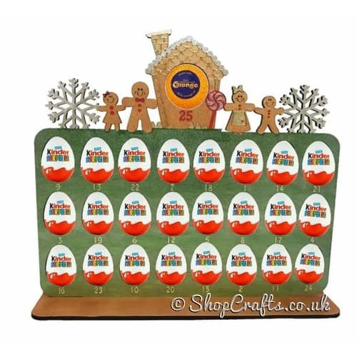 Advent Calendar Penguin Family Fits Terry Chocolate Orange /& Kinder Egg
