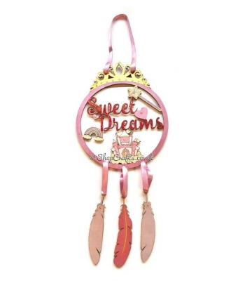 'Sweet Dreams' Dream catcher - Princess theme