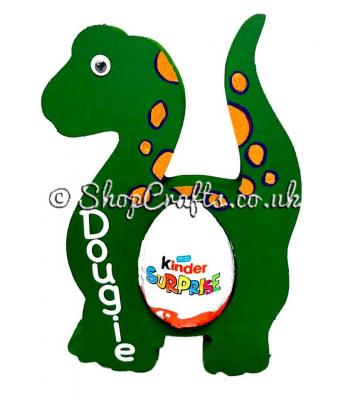 18mm Kinder egg holder - Dinosaur version.