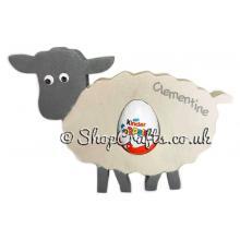 18mm thick Kinder egg holder - Sheep version.