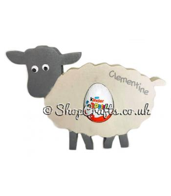 18mm thick Kinder egg holder - Sheep version.