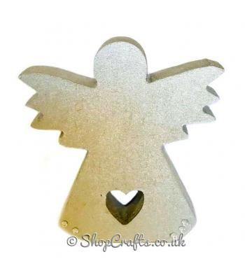 """Shelfie"" - 18mm thick freestanding Angel shape"