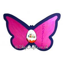 18mm thick Kinder egg holder - Butterfly version.