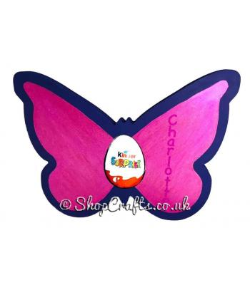 18mm thick Kinder egg holder - Butterfly version.
