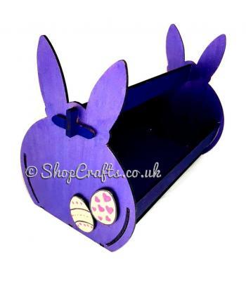 Easter Bunny shaped Easter basket.