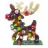 *Special Offer-Free lollies!* Reusable 3mm Reindeer lollipop advent calendar-OTHER DESIGNS AVAILABLE