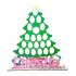 Reusable 6mm thick Tree advent for Kinder eggs and chocolate orange-OTHER DESIGNS AVAILABLE
