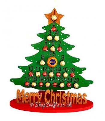 Supersize 18mm Reusable Christmas Tree Chocolate Orange, Ferrero Rocher,lindt Advent Calendar