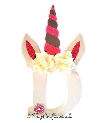 Unicorn Freestanding Letter