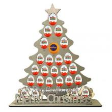 Reusable 6mm Thick Tree Advent For Kinder Eggs & Chocolate Orange - Other Designs Available