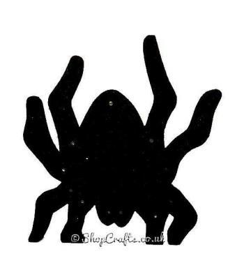 Halloween Light Spider Shape 18mm thick Freestanding