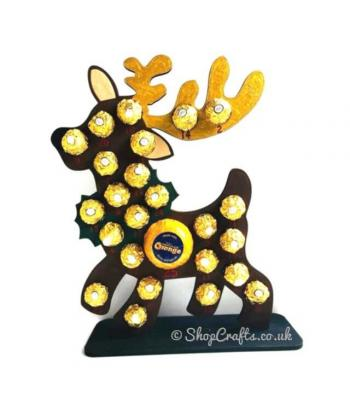 Reusable 6mm Thick Reindeer Advent Calendar - Other Designs Available