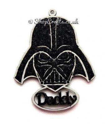 Personalised Darth Vader Star Wars Name Bauble