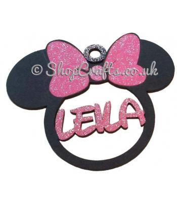 Personalised Minnie Mouse Name Bauble