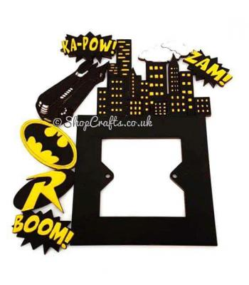 Superhero Comic Themed light switch surround