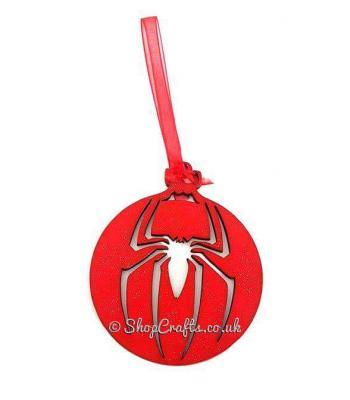 Spiderman Christmas Tree Bauble