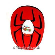 Freestanding 18mm thick spider kinder egg holder