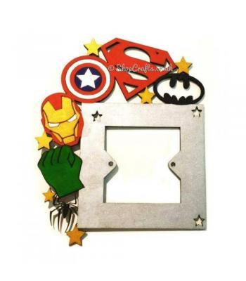 Superhero Light Switch Surround