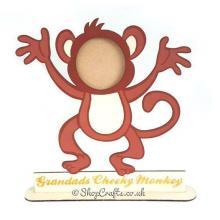 Cheeky Monkey Family Photo Frame